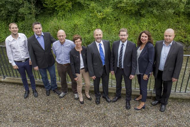 Gruppenfoto Gemeinderat